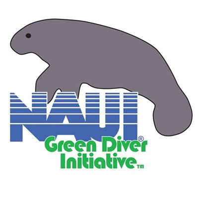 Picture of Tattoo, NAUI Green Diver- Manatee