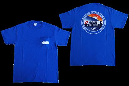 NAUI T-Shirt with Pocket