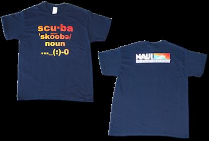 NAUI Definition of Diving T-Shirt