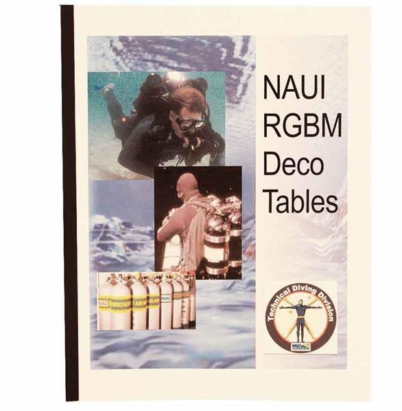 NAUI RGBM Decompression Tables Textbook