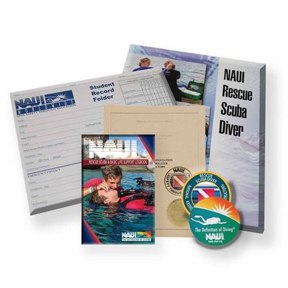 Picture of Rescue Scuba Diver: NAUI Academic Kit